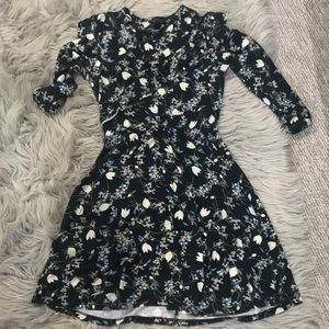 Top shop long sleeves mini dress